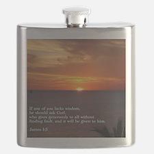 James 1-5  Sunset Flask
