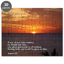 James 1-5  Sunset Puzzle