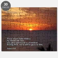 James 1-5  Sunset Puzzle