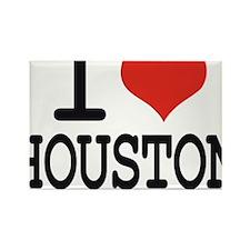 I LOVE HOUSTON Rectangle Magnet
