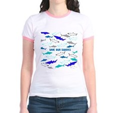 shark collage T