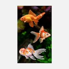 Goldfish Sticker (Rectangle)