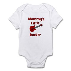 Mommy's Little Rocker Infant Bodysuit