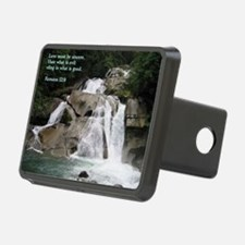 Romans 12-9  Waterfall Hitch Cover