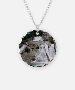 Romans 12-9  Waterfall Necklace