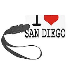 I LOVE SAN DIEGO Luggage Tag