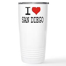 I LOVE SAN DIEGO Travel Mug