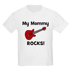 My Mommy Rocks! (guitar) Kids T-Shirt