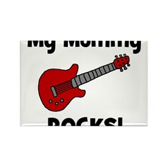 My Mommy Rocks! (guitar) Rectangle Magnet