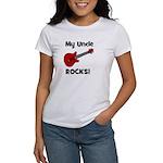 My Uncle Rocks! (guitar) Women's T-Shirt