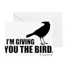The Bird Hat Greeting Card