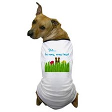 bunny-head-C1-Transp Dog T-Shirt