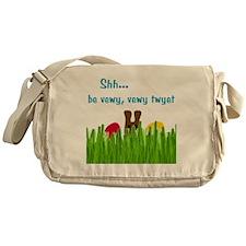 bunny-head-C1-Transp Messenger Bag