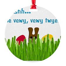 bunny-head-C1-Transp Ornament