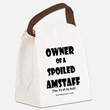 OWNSPOIL_AMSTAFF Canvas Lunch Bag
