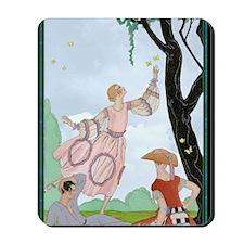 1 JAN BARBIER LOVE V Papillons Mousepad