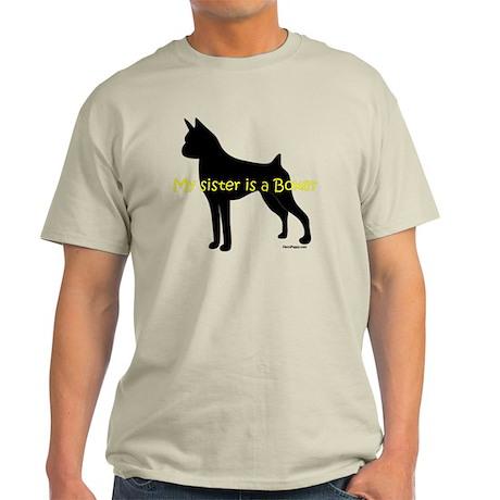 SisterIsABoxer Light T-Shirt