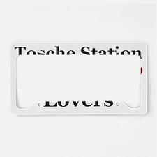 ToscheBlack License Plate Holder