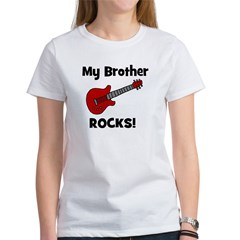 My Brother Rocks! (guitar) Tee