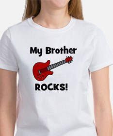 My Brother Rocks! (guitar) Tee