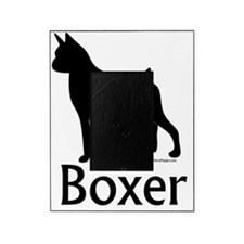 BoxerSilhouetteText Picture Frame