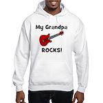 My Grandpa Rocks! (guitar) Hooded Sweatshirt