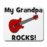 My Grandpa Rocks! (guitar) Mousepad