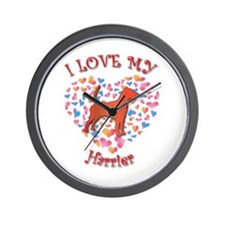 Love Harrier Wall Clock