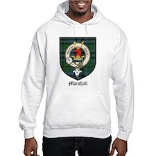 Marshall Clan Crest Tartan Hoodie