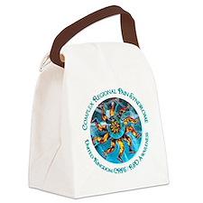 UK CRPS/RSD Awareness Leg Starbur Canvas Lunch Bag