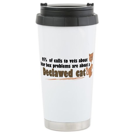 declawcall.png Stainless Steel Travel Mug