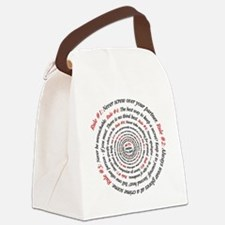 GibbsRulesCircle2011 Canvas Lunch Bag