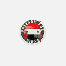 freedomforsyriabloody Mini Button