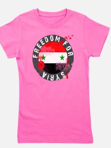 freedomforsyriabloody Girl's Tee