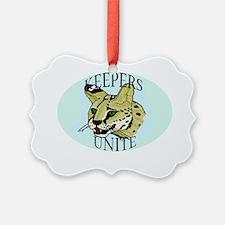 keepersuniteserval Ornament
