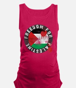 freedom for palestine Maternity Tank Top