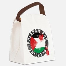 freedom for palestine Canvas Lunch Bag