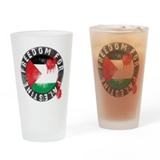 freedom for palestine Drinking Glass