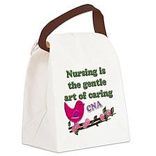 nursing cna Canvas Lunch Bag
