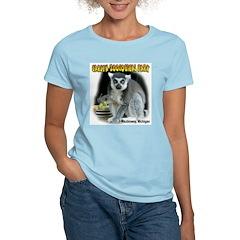 Ring-tailed Lemur Women's Pink T-Shirt