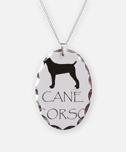 CaneCorsoText Necklace