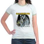 Ring-tailed Lemur Jr. Ringer T-Shirt