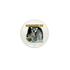 Ring-tailed Lemur Mini Button (100 pack)