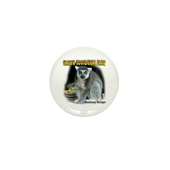 Ring-tailed Lemur Mini Button (100 pack)