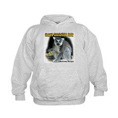 Ring-tailed Lemur Kids Hoodie