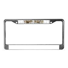 trophy hunter License Plate Frame