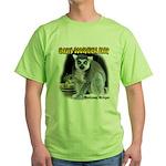 Ring-tailed Lemur Green T-Shirt