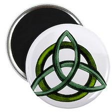 Triquetra Green Magnet