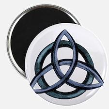 Triquetra Blue Magnet