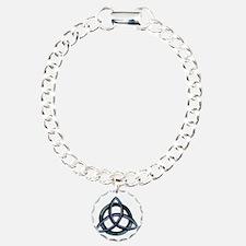 Triquetra Blue Bracelet
